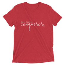 Load image into Gallery viewer, More Than A Conqueror - Short sleeve t-shirt