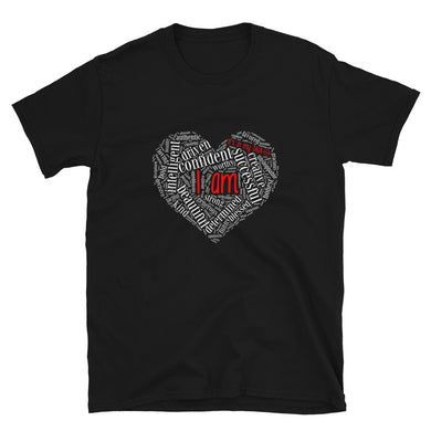 I Am - It's in my DNA - Heart Short-Sleeve T-Shirt