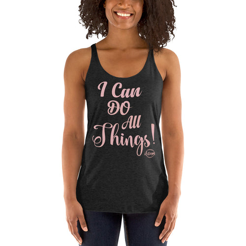 I Can Do All Things - Women's Racerback Tank