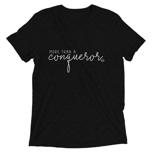 More Than A Conqueror - Short sleeve t-shirt