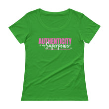 Load image into Gallery viewer, Authenticity - Scoopneck T-Shirt