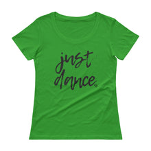 Load image into Gallery viewer, Just Dance - Stylish Scoopneck T-Shirt