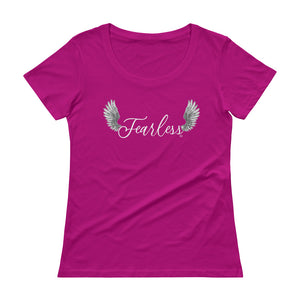 Fearless - Ladies' Scoopneck T-Shirt