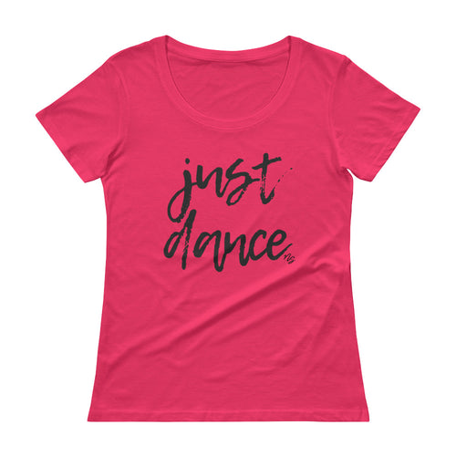 Just Dance - Stylish Scoopneck T-Shirt