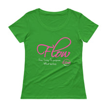 Load image into Gallery viewer, Flow - Ladies' Scoopneck T-Shirt