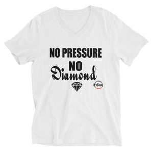 No Pressure - Short Sleeve V-Neck T-Shirt
