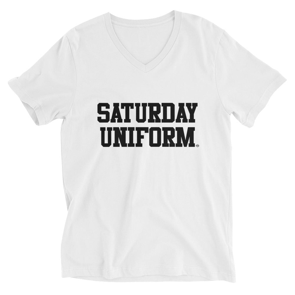 Saturday Uniform - Short Sleeve V-Neck T-Shirt