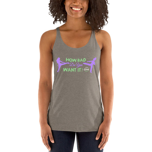 How Bad? - Women's Racerback Tank