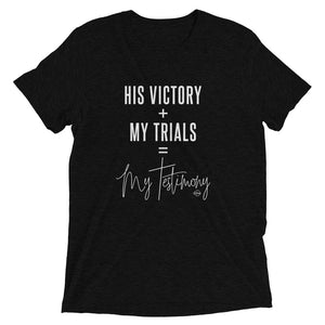 My Testimony - Short sleeve t-shirt