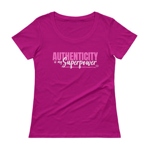 Authenticity - Scoopneck T-Shirt