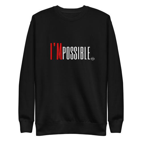 I'MPOSSIBLE - Unisex Fleece Pullover