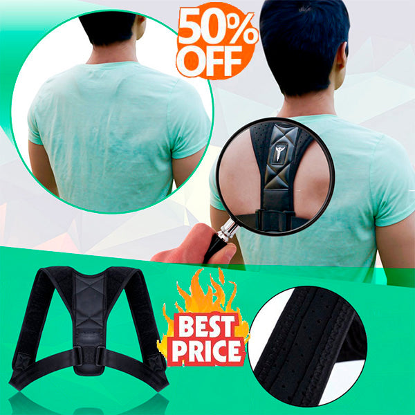 😍BackBrace™ Posture Corrector (Adjustable to All Body Size)🌟