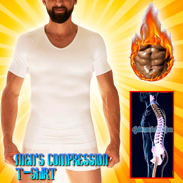 SlimWhite™ Men's Compression T-Shirt
