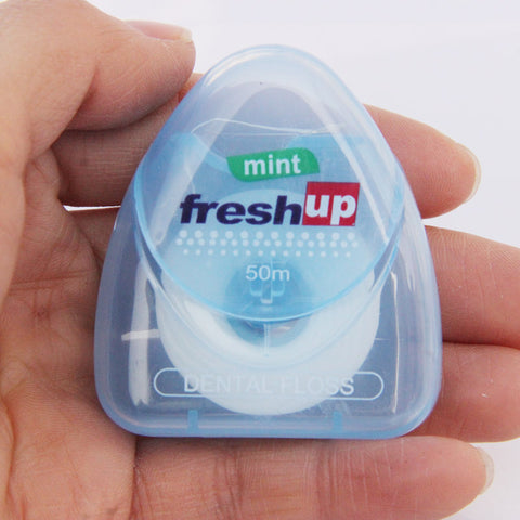 50M Micro Wax Flavored Dental Flosser
