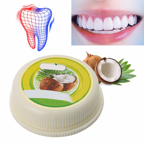10g Thailand Coconut Toothpastes Herbal Clove Toothpaste Teeth Whitening Care