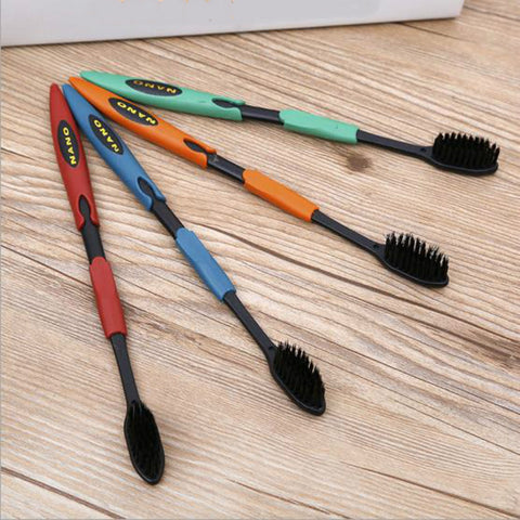 4Pcs Ultra Soft Bamboo Toothbrush