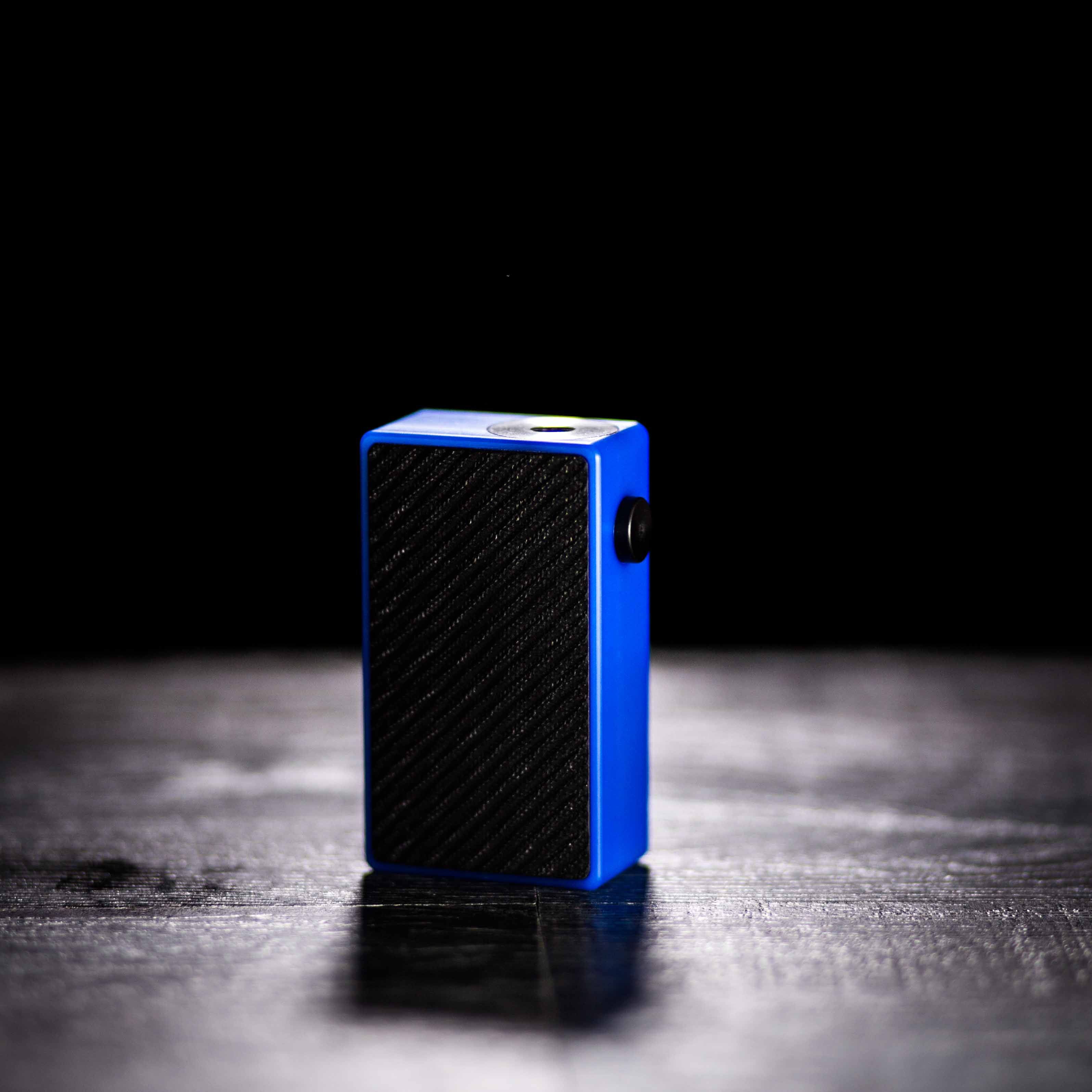 The Plug Squonk Box by Mums Fantasy Factory - Blue