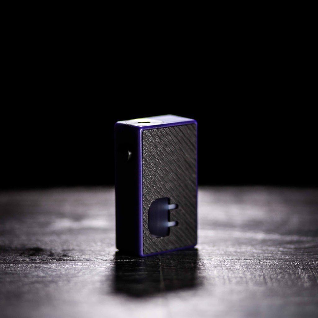 The Plug Squonk Box by Mums Fantasy Factory - Purple