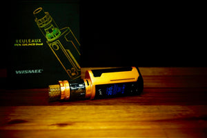 REULEAUX RX GEN3 DUAL WITH GNOME KING KIT by WISMEC