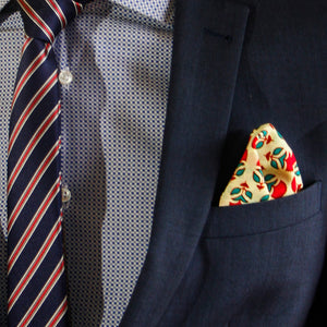 The Bloody Mary - pocket squares, PocketMan - the best pocket squares you'll ever wear