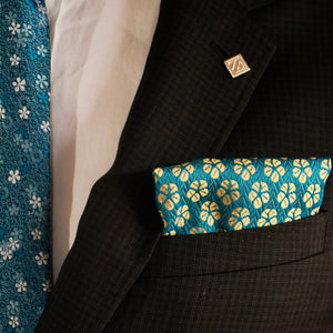 The Japanese Slipper - pocket squares, PocketMan - the best pocket squares you'll ever wear