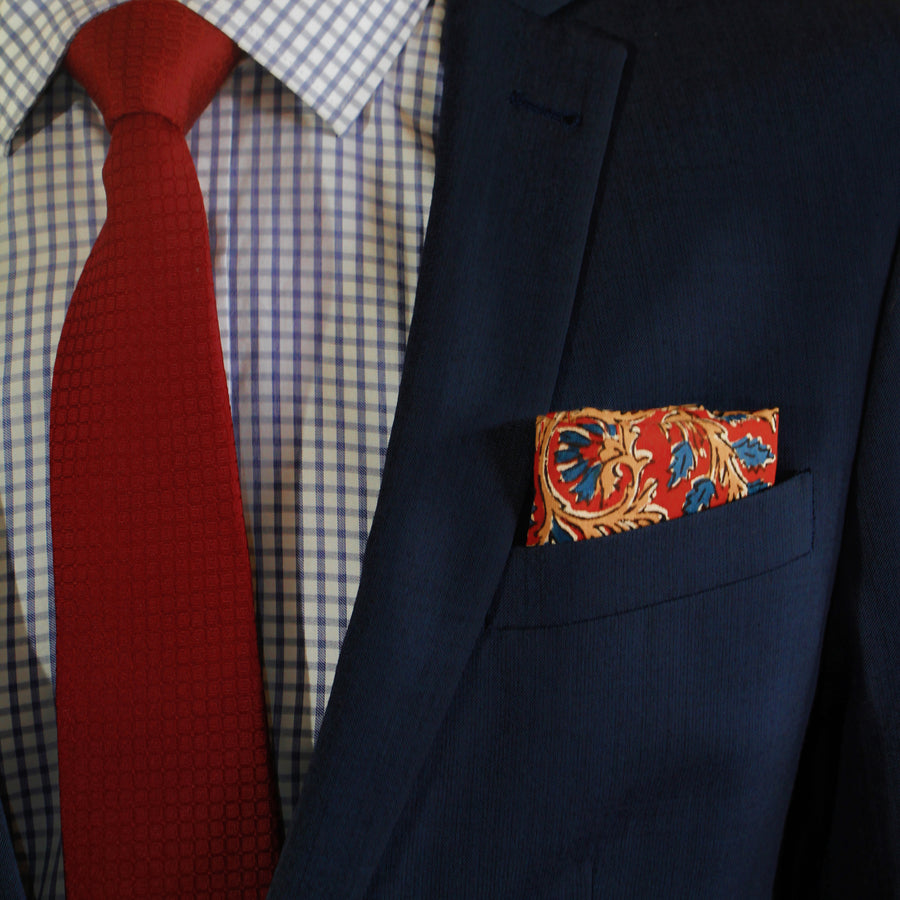 The Sweet Sangria - pocket squares, PocketMan - the best pocket squares you'll ever wear