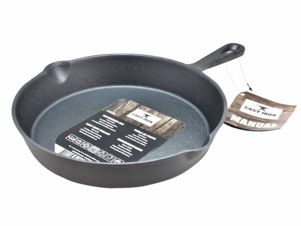 Panna cast iron Ø :25cm black - UPPSELT