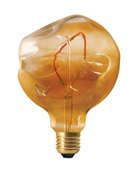 Shaped LED Globe (Amber) - UPPSELT