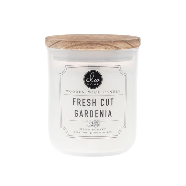 FRESH CUT GARDENIA | WOODEN WICK