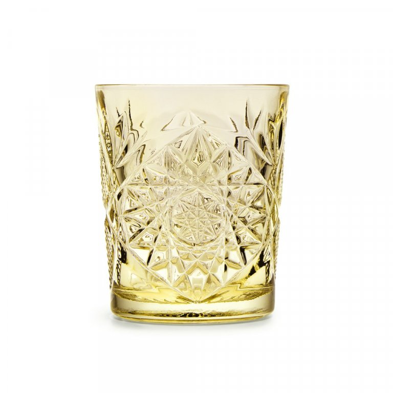 Glas 35cl Hobstar pale yellow