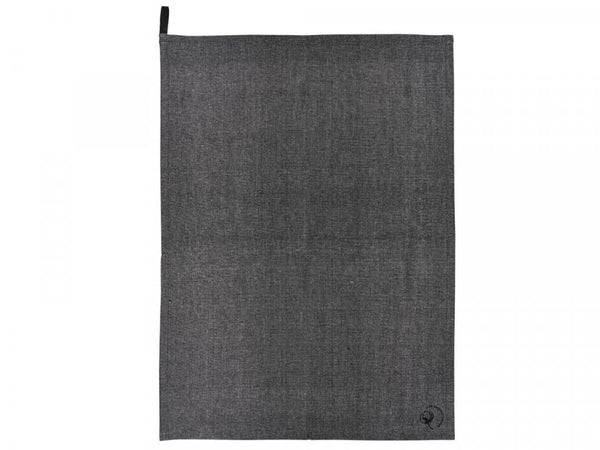 Viskastykki 50x70 Chambray O Black