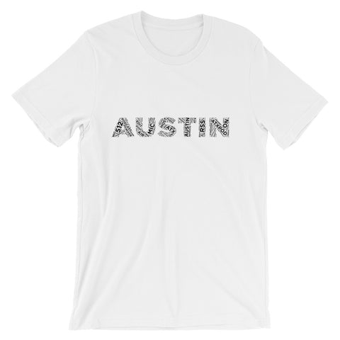 Austin Cloud White Tee