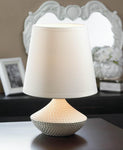 WHITE TABLE LAMP, , The Decor Source, The Decor Source
