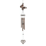 BUTTERFLY AND HEART WIND CHIMES, , The Decor Source, The Decor Source