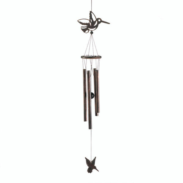 HUMMINGBIRD WIND CHIMES, , The Decor Source, The Decor Source