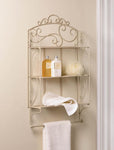 SCROLLWORK DISPLAY WALL SHELF, , The Decor Source, The Decor Source