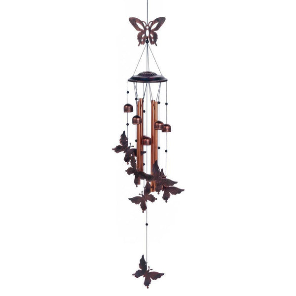 FLUTTERING BUTTERFLIES WIND CHIMES, , The Decor Source, The Decor Source
