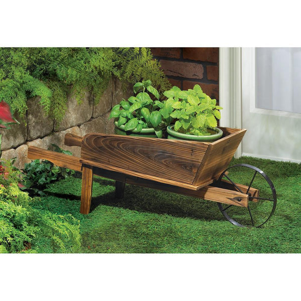 COUNTRY FLOWER CART PLANTER, , The Decor Source, The Decor Source