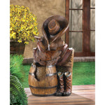 WILD WEST WATER FOUNTAIN, , The Decor Source, The Decor Source