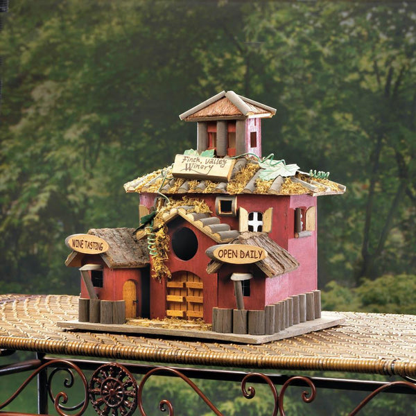 WINERY BIRDHOUSE, , The Decor Source, The Decor Source