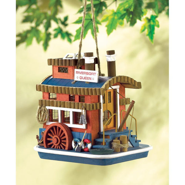 RIVERBOAT QUEEN BIRDHOUSE, , The Decor Source, The Decor Source