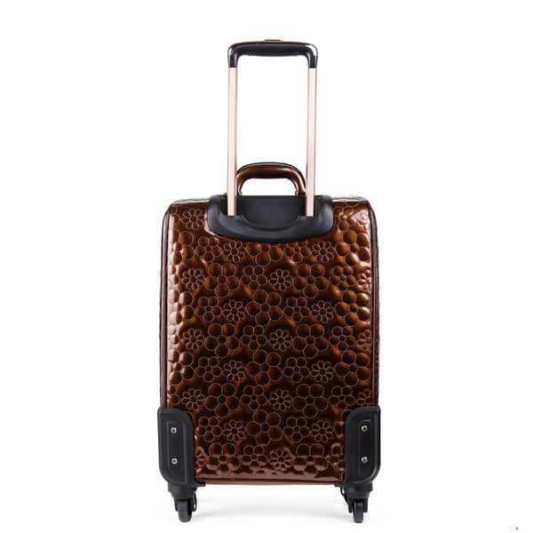 Floral Sparx Light Weight Spinner Luggage - Brangio Italy Co.
