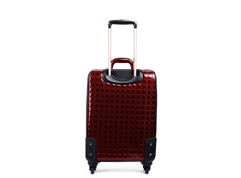 Euro Moda Underseat Travel Luggage with Spinners - Brangio Italy Co.