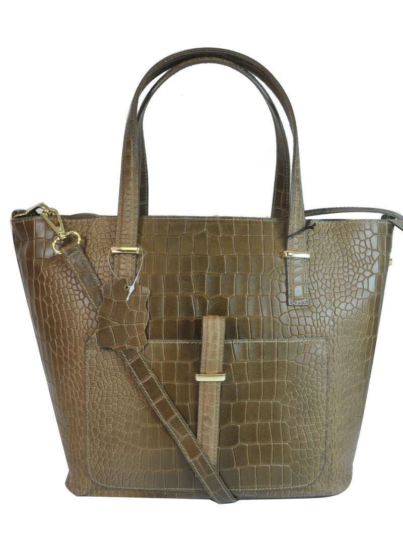 Misty U.S.A. 100% Genuine Cowhide Leather Handbags Made In Italy[YG8132-TN] - Brangio Italy Collections