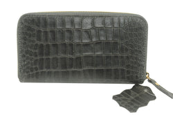 Misty U.S.A. Croc Wallet Metal[YGW8888-PR] - Brangio Italy Collections