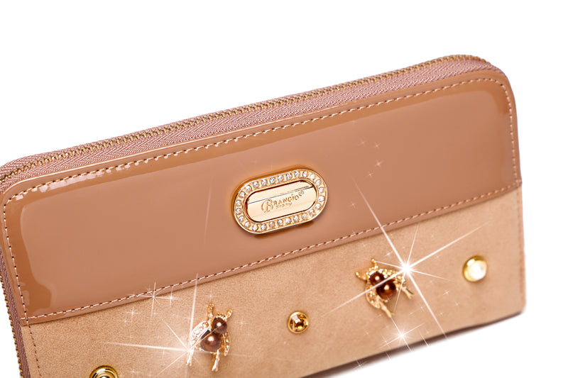 Honey Bee Hand Made Wallets for Women - Brangio Italy Collections