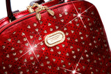 Sparkle of Hearts Backpack Bag for Women