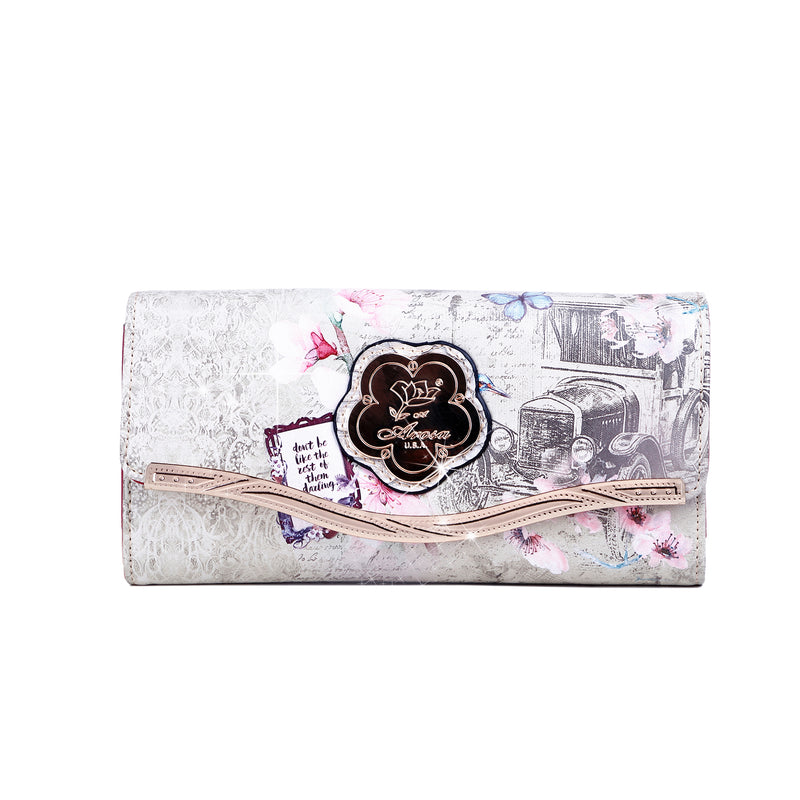 Vintage Darling Leather Wallets for Women with Multiple Pockets - Brangio Italy Collections