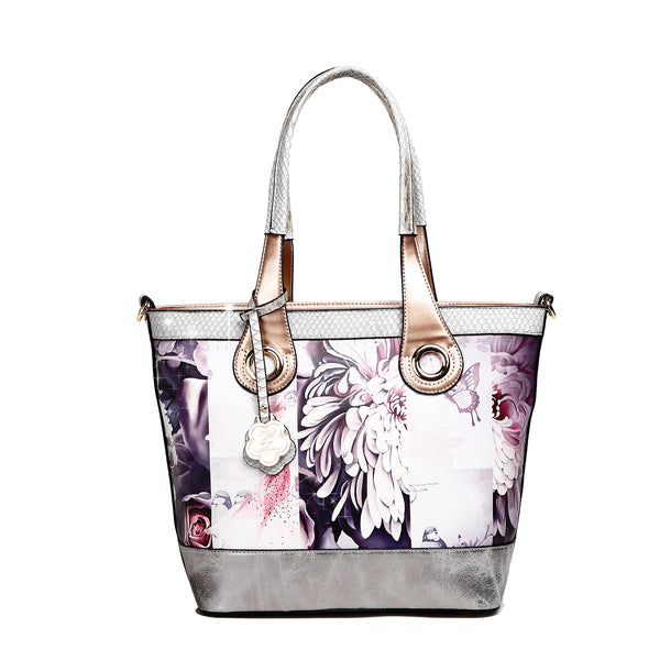 Blossomz Tote Designer Luxury Tote Bag for Women - Brangio Italy Co.