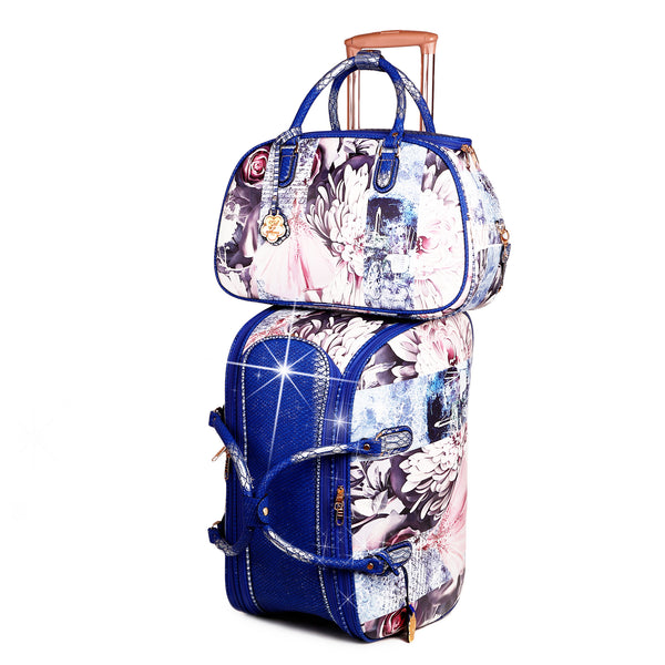 Blossomz Duffle Bag + Overnight Bag for Women - Brangio Italy Co.